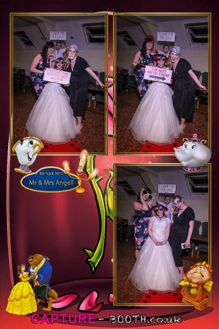 Mr & Mrs Angell Magic Mirror Wedding