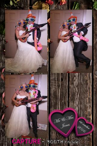 Mr & Mrs jones Magic mirror Wedding